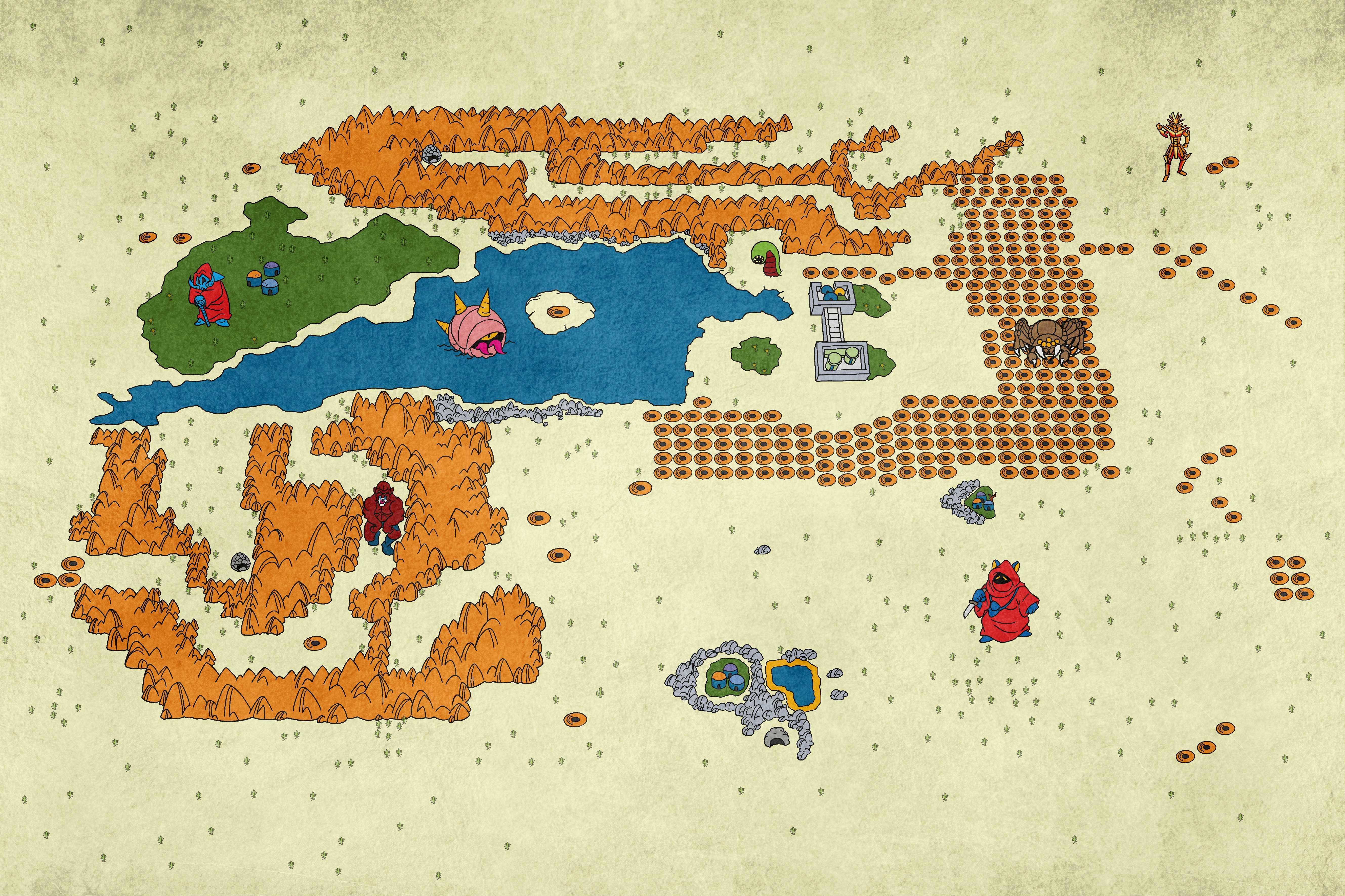 Phantasy Star 4 World Map.Downloads A Gazeta De Algol